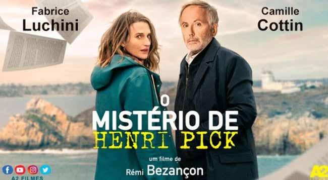 O mistério de Henri Pick - O Mistério de Henri Pick tem sessão comentada no Festival Varilux em São Leopoldo