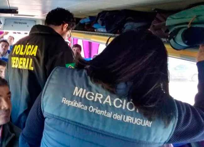 PF - Polícia Federal: mais controle na fronteira com o Uruguai durante Copa América