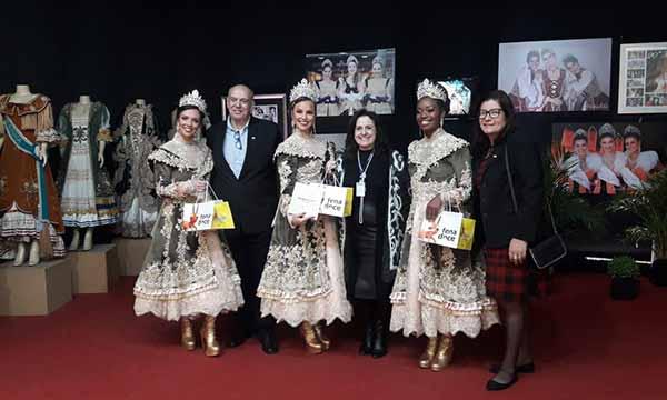 Pelotas Corte da Fenadoce 2019 1 - Corte da Fenadoce 2019 prestigiou abertura do Espaço Fenadoce no Shopping Pelotas