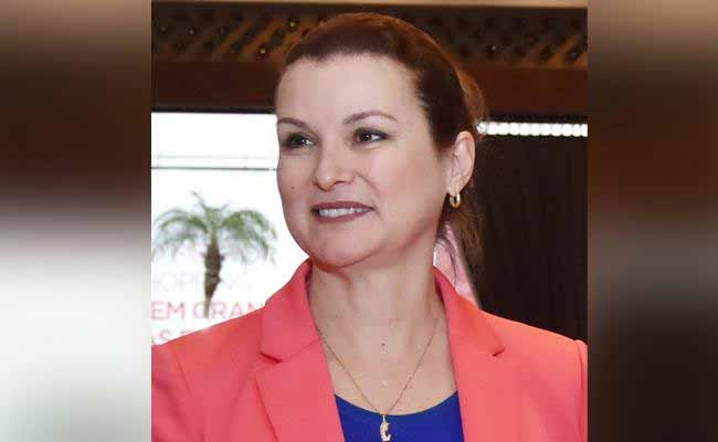 Prefeita de Novo Hamburgo Fátima Daudt - Fátima Daudt representa a força feminina em evento internacional