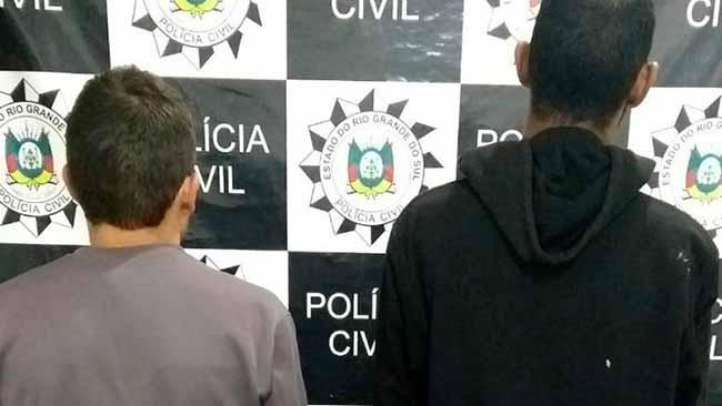 São Leopoldo presos civil - São Leopoldo: suspeitos de roubo no bairro Padre Réus são presos preventivamente