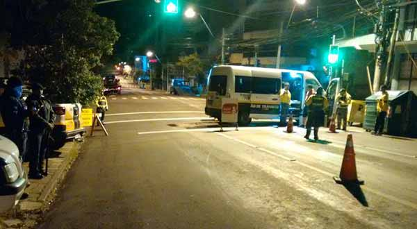 SMTTM balada segura caxias do sul - Blitz Balada Segura autua 18 condutores por embriaguez em Caxias do Sul