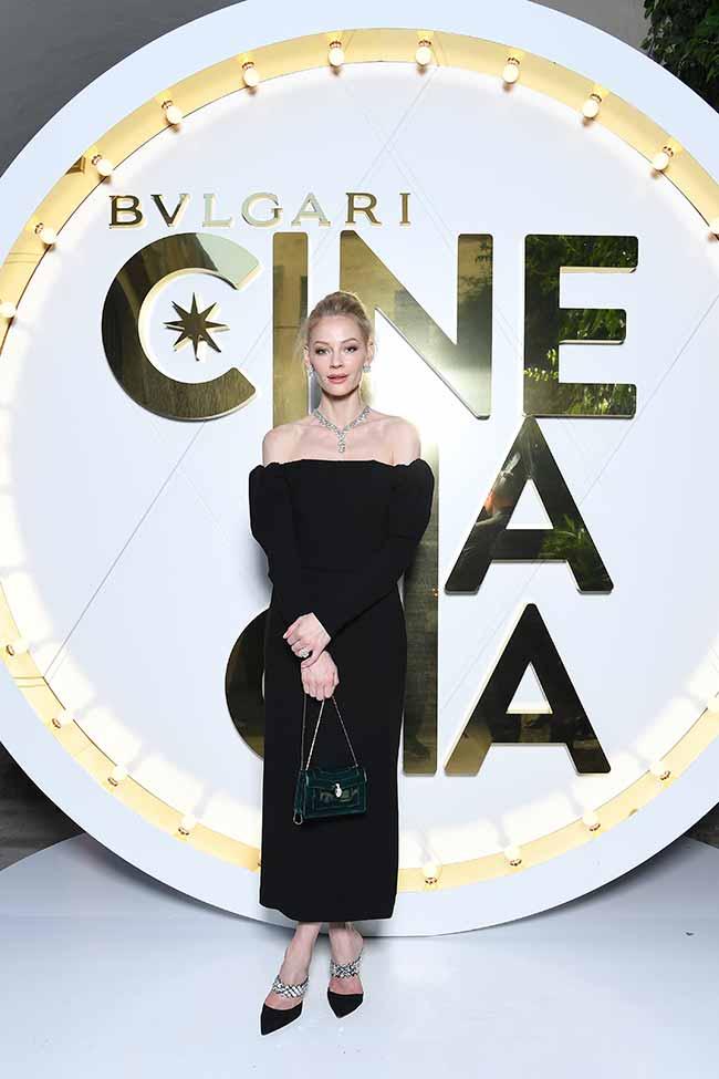 Svetlana Khodchenkova - Bvlgari lança coleção Cinemagia