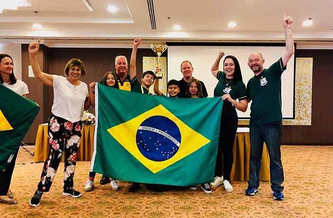 The Mind Olympics - Estudantes de Portão são bicampeões de torneio de raciocínio na Hungria