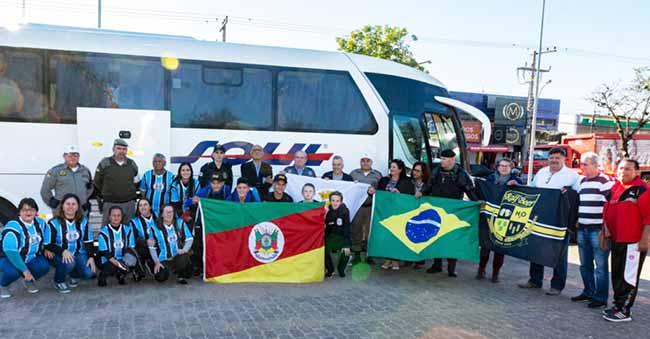 Time de Alvorada embarca para Portugal - Time da categoria sub 13 de Alvorada embarca para Portugal