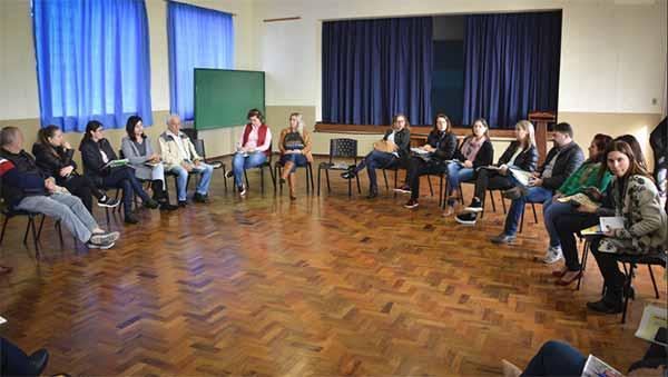 Vacaria Assistência Social 2019 - Vacaria realiza 1ª Etapa do Trabalho em Rede