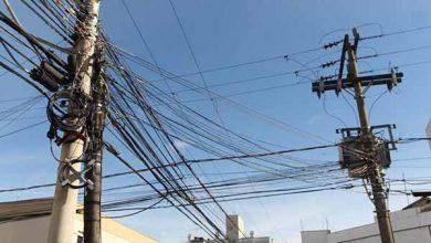 adequação de postes e fiações 390x220 - Prefeitura e empresas iniciam adequação de postes e fiações em São Leopoldo