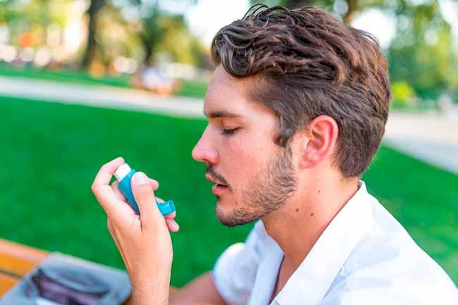 asma - Asma: 47% dos pacientes usam a medicação de forma errada