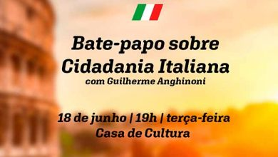 bate papo cidadania italiana 390x220 - Bate papo sobre cidadania italiana dia 18 em Farroupilha