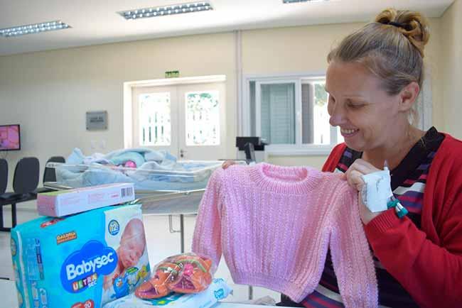 bebeshospnh - Recorde de doações para bebês e gestantes de Novo Hamburgo