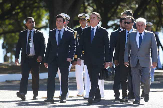 bolsonaro 1 - Bolsonaro ressalta atuação da Marinha