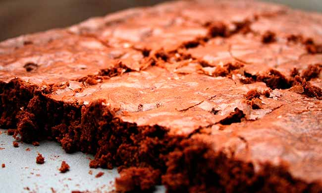 brownie - Brownie funcional de chocolate