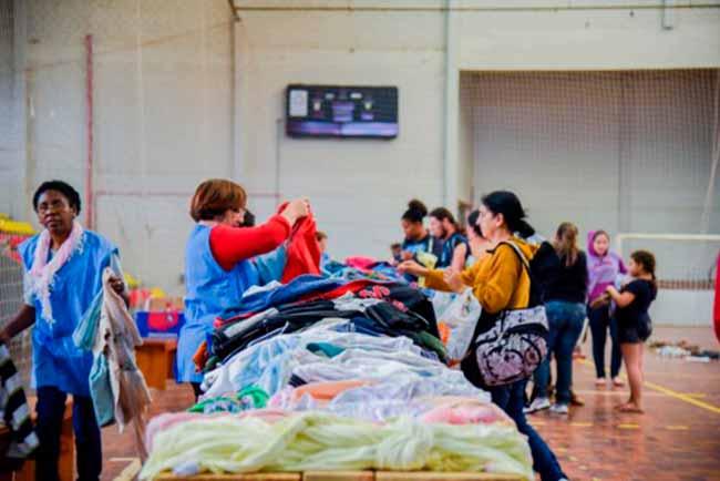campobomagasalho - Campo Bom distribui sábado os donativos da Campanha do Agasalho