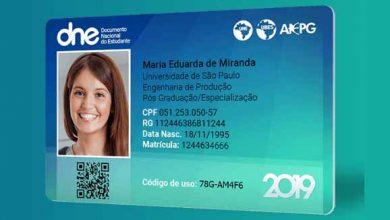 carteira de estudante 390x220 - Meia-entrada garantida para estudantes na Fenadoce