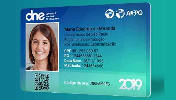 carteira de estudante - Meia-entrada garantida para estudantes na Fenadoce