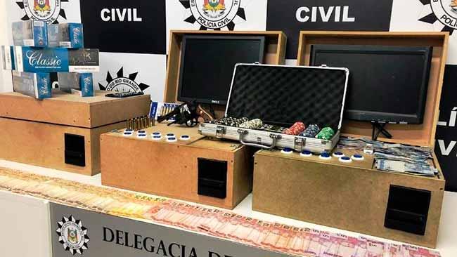 casajog - Casa de jogos clandestina é descoberta em Sapiranga