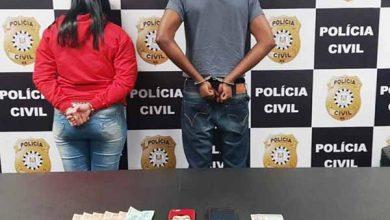 casal é preso em flagrante na Capital 390x220 - Em ação no combate ao roubo de veículos, casal é preso em flagrante na Capital