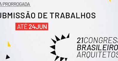 cba  390x201 - 21º Congresso Brasileiro de Arquitetos: envio de trabalhos até dia 24