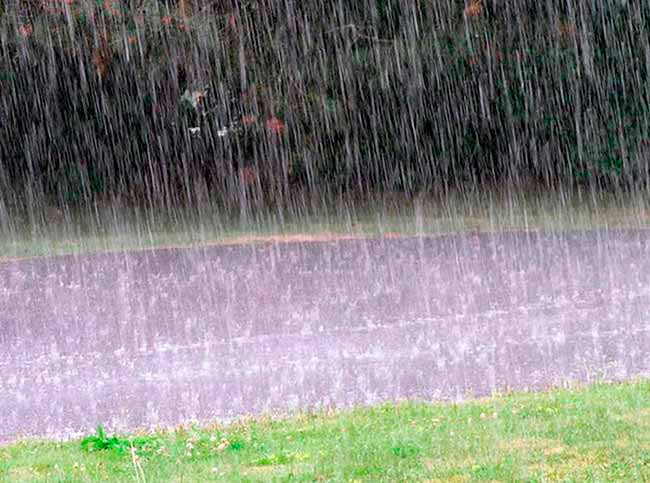 chuv - RS: tempo segue chuvoso na fronteira com o Uruguai