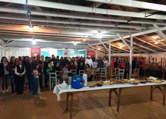 curso cucas - Curso de cucas é realizado em Jaquirana