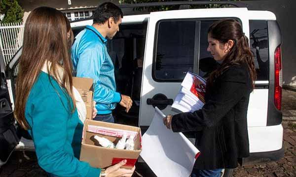 distribuição de repelentes nas escolas e emeis 2 - Santa Cruz do Sul inicia distribuição de repelentes nas escolas e emeis