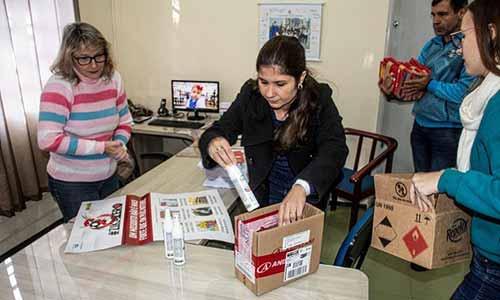 distribuição de repelentes nas escolas e emeis 3 - Santa Cruz do Sul inicia distribuição de repelentes nas escolas e emeis