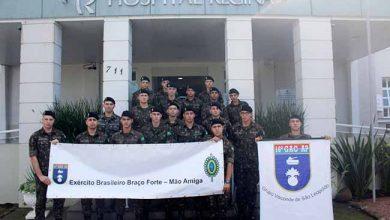 doaç16gac 390x220 - Militares do 16º GAC AP doam sangue em Novo Hamburgo