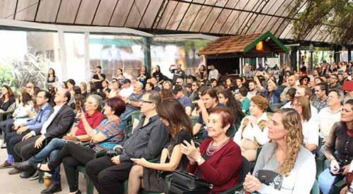 feira do livro gramado 1 - Abertura da Feira do Livro mostra esplendor das artes em Gramado