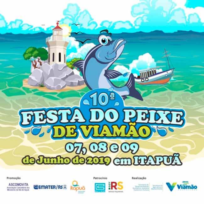 festa peixe viamão - Festa do Peixe inicia hoje em Viamão