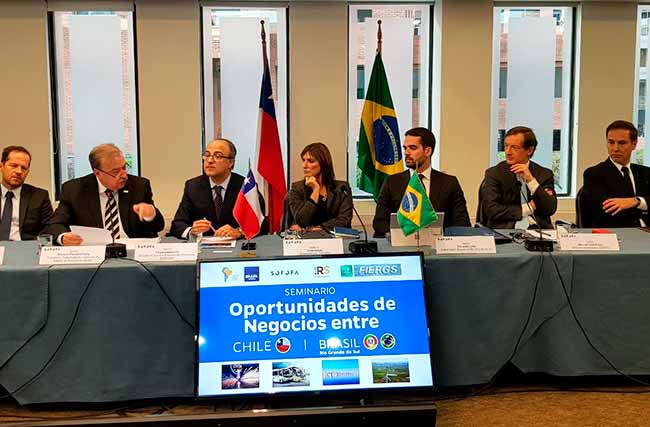 fiergs chile5 - Presidente da FIERGS apresenta a indústria gaúcha no Chile