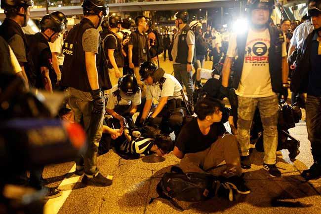 hongkong extradition - Hong Kong continua em clima de tensão