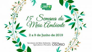 maior MEIO AMBIENTE CARD 390x220 - 15ª Semana do Meio Ambiente segue até domingo em Osório