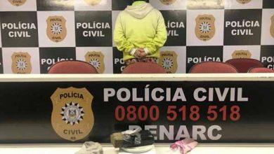 mulher é presa em sapucaia do sul 390x220 - Polícia Civil prende em flagrante uma mulher por tráfico de drogas em Sapucaia do Sul