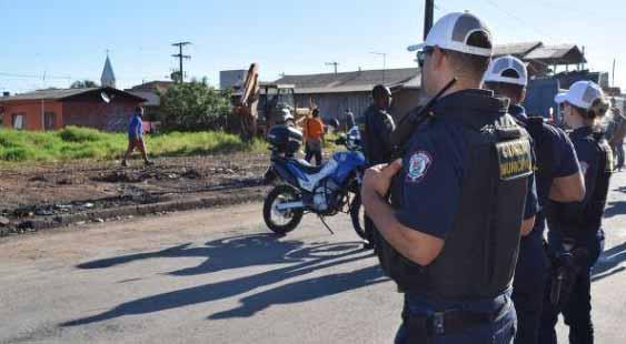 ocupação irregular no bairro Santo Afonso 1 - Prefeitura de NH faz reintegração de posse em ocupação irregular no Santo Afonso