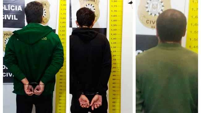 pc - Suspeitos de homicídio são presos na Serra Gaúcha