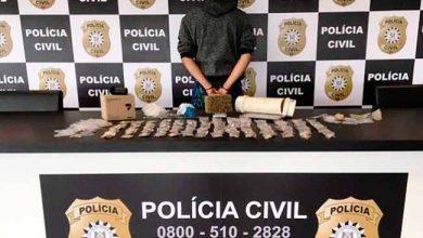 policia sl 390x220 - Homem é preso em São Leopoldo por tráfico de drogas