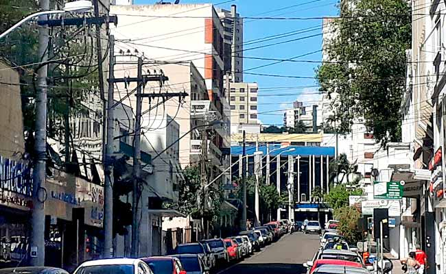 postes substituiçãocentro - Novo Hamburgo: troca de postes em três ruas neste domingo