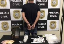 preso em Sapucaia do Sul 220x150 - Homem é preso em Sapucaia do Sul por tráfico de drogas