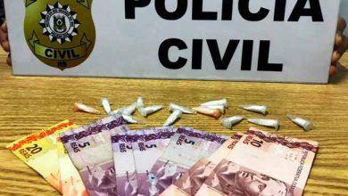pv 390x220 - Homem é preso por tráfico de drogas em Canoas