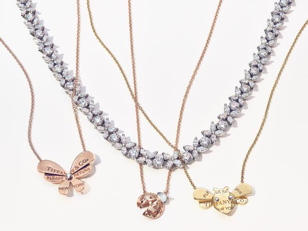return to tiffany love bugs necklaces 634647 - Tiffany & Co. apresenta coleção Return to Tiffany® Love Bugs