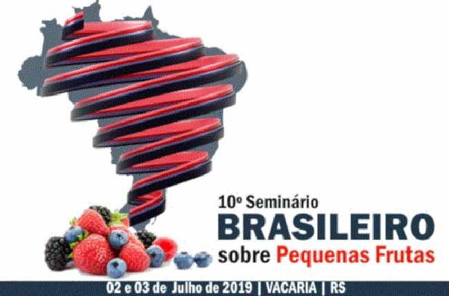seminario vacaria - Vacaria vai sediar seminário sobre pequenas frutas