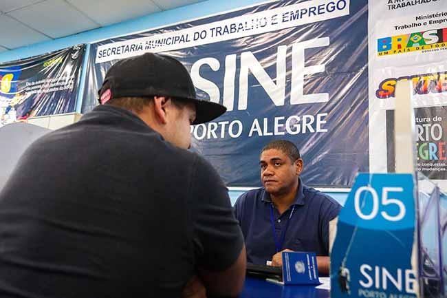 sine poa - Sine Porto Alegre tem 237 vagas de emprego - 115 para pessoas com deficiência