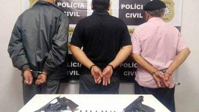 slpol 390x220 - Três presos por porte ilegal de arma de fogo em São Leopoldo