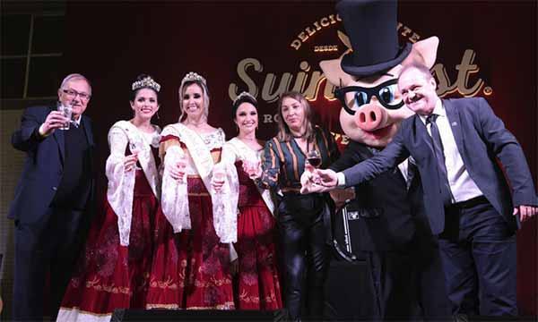 suino fest encantado 5 - Suinofest iniciou na sexta-feira em Encantado