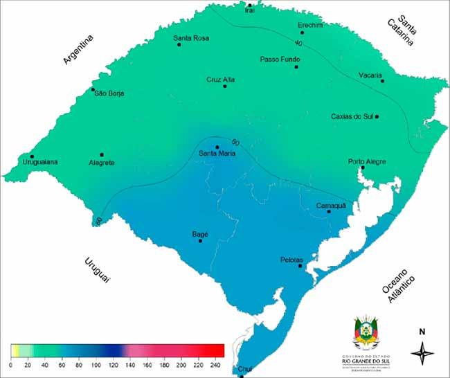 temp 1 - RS: frio e chuva forte na próxima semana