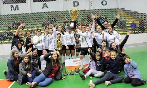 tetracampeã do Futsal Feminino de Gramado 2 - Donna FF é tetracampeã do Futsal Feminino de Gramado