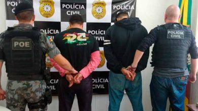 tráfico de drogas em Veranopólis 390x220 - Dois homens são presos por tráfico de drogas em Veranopólis