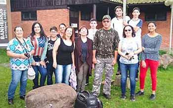 vacaria fotografia ambiental 2 - Alunos das municipais exercitam fotografia ambiental em Vacaria
