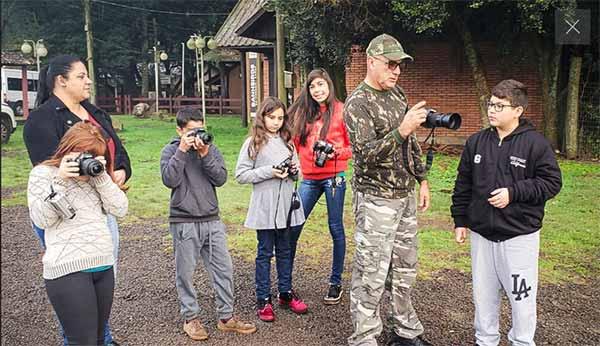 vacaria fotografia ambiental 3 - Alunos das municipais exercitam fotografia ambiental em Vacaria