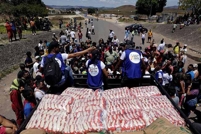 venezuela politics brazil - Cruz Vermelha fará ajuda humanitária na Venezuela